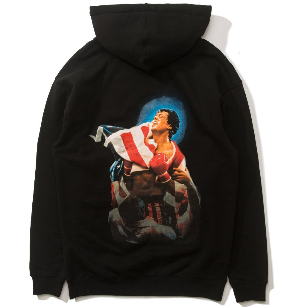 The Hundreds X Rocky - Flag Hoodie