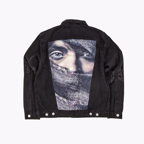"Profound Aesthetic - ""Eye Gaze"" Denim Jacket"