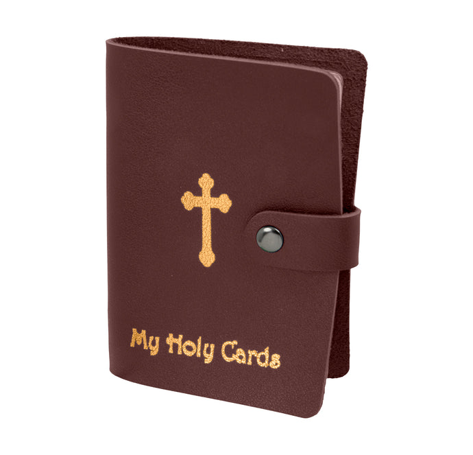 My Holy Cards Leatherette Prayer Card Holder