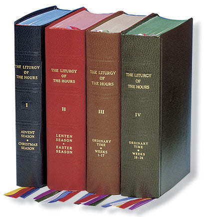 Liturgy of the Hours-4 Volume set