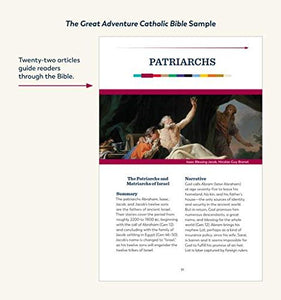 The Great Adventure Catholic Bible-OUT OF STOCK till late February 2019 check back