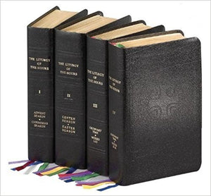 LITURGY OF THE HOURS (Set of 4) (Leather)