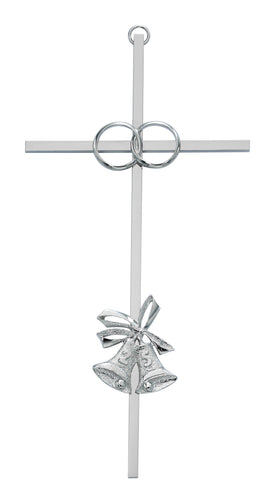 8in 25th Anniversary Aluminum Cross Boxed - 71-44825
