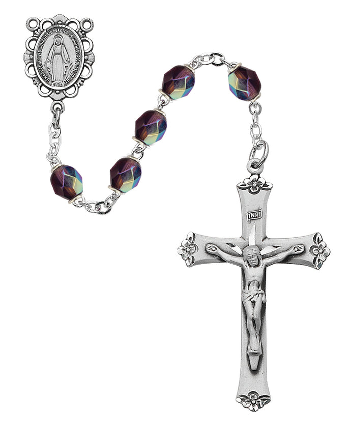 purple-glass-february-rosary-boxed-875L-DAF