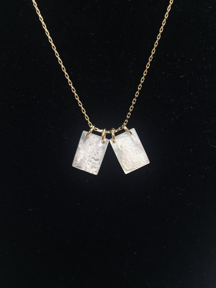 Mother of Pearl-Small Scapular