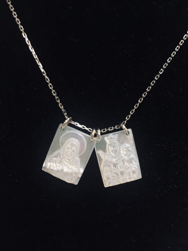 Mother of Pearl-Large Scapular