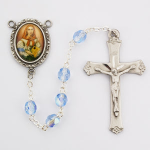 blue-glass-st-dymphna-rosary-boxed-R190DF