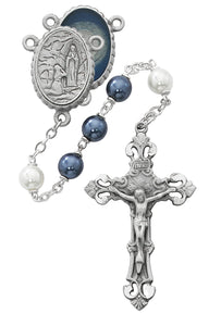 blue-and-white-lourdes-rosary-boxed-R608DF