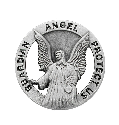 ROUND GUARDIAN ANGEL VISOR CLIP