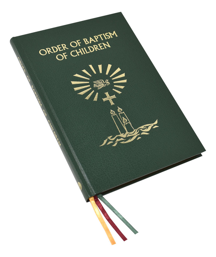 Order of Baptism of Children-Now in stock