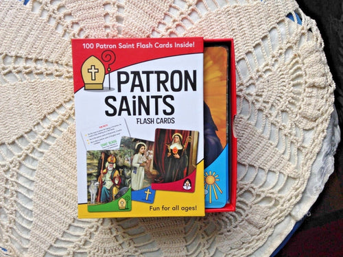 Patron Saint Flash Cards 100 cards Boxed Set