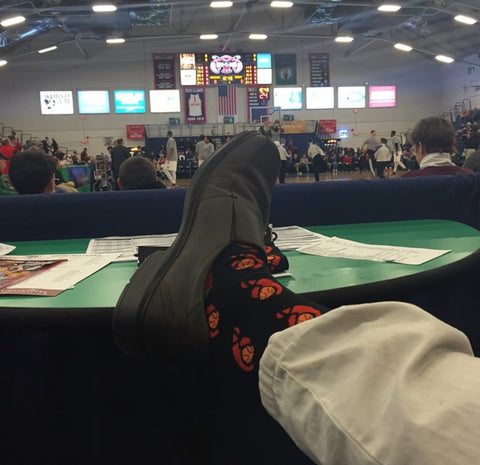 Custom Socks - Maine Red Claws