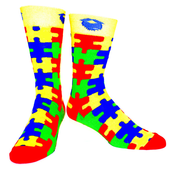 Autism Awareness ManSocks