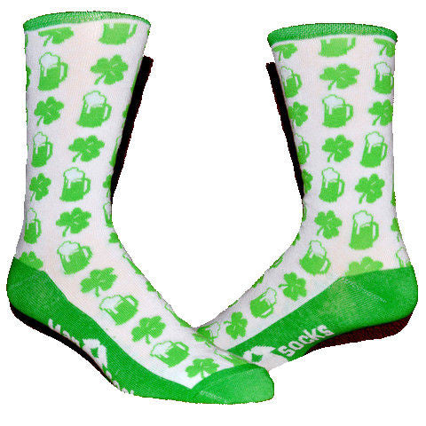 St. Patricks Day ManSocks