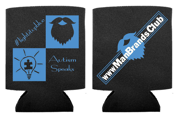 Autism Speaks Koozie Can Holder