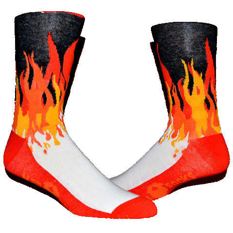 Fire Flame ManSock