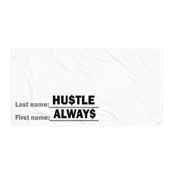 Always Hustle ManTowel Beach Blanket