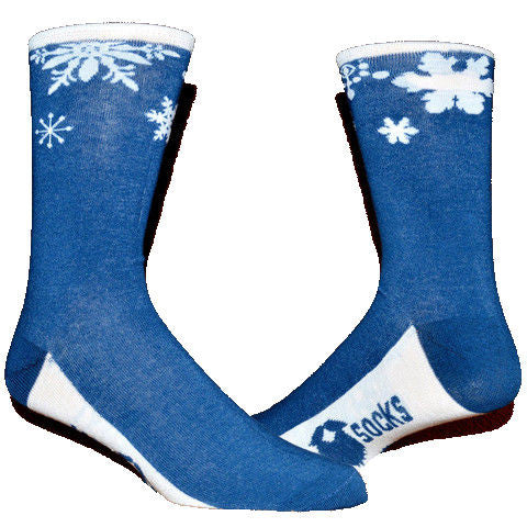 Snow Flake ManSocks