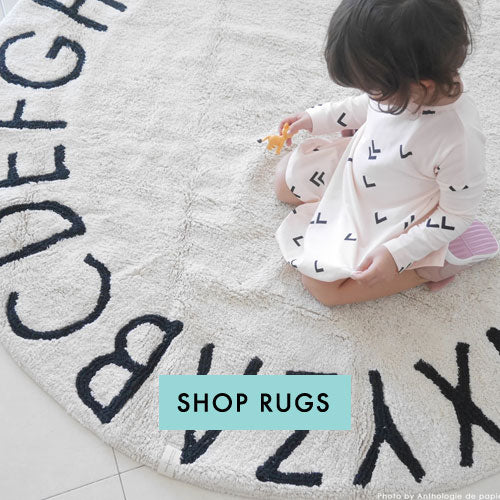 Washable Rugs for Baby Nursery Parade and Company