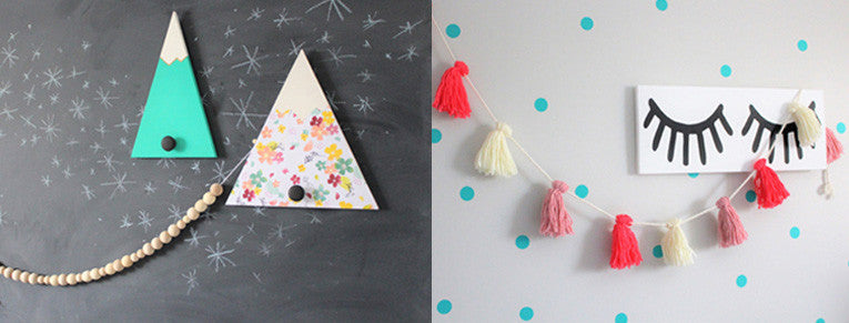 Jae to the Wall garlands for kids room Etsy