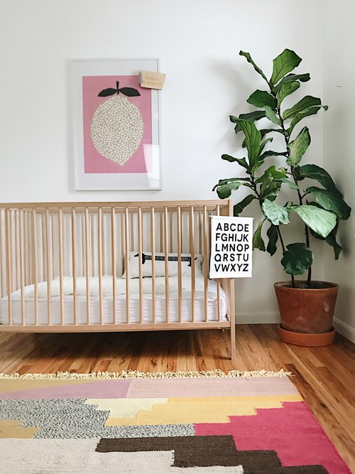 Boho nursery decor by Parade and Company