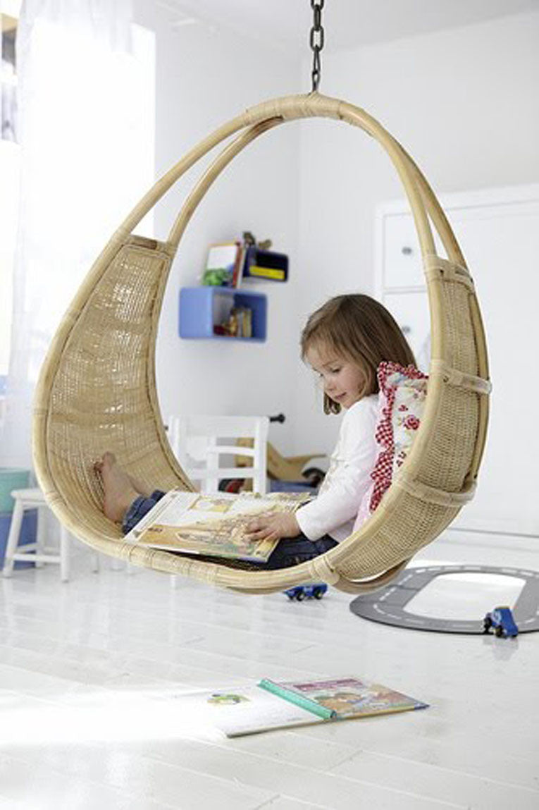 Relaxing Chair Swing is Perfect for Reading | Parade and Company Blog