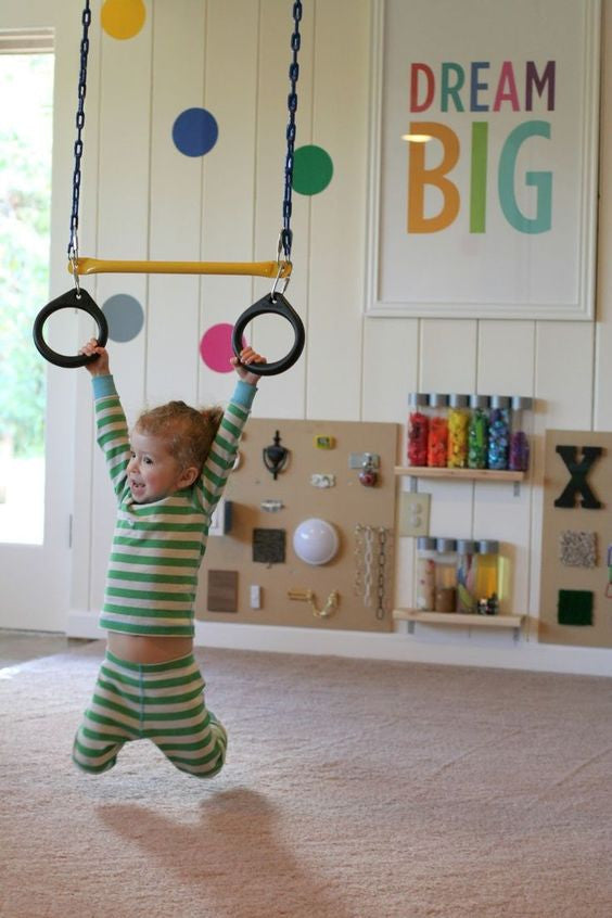Rings Swings Kids Room | Parade and Company Blog