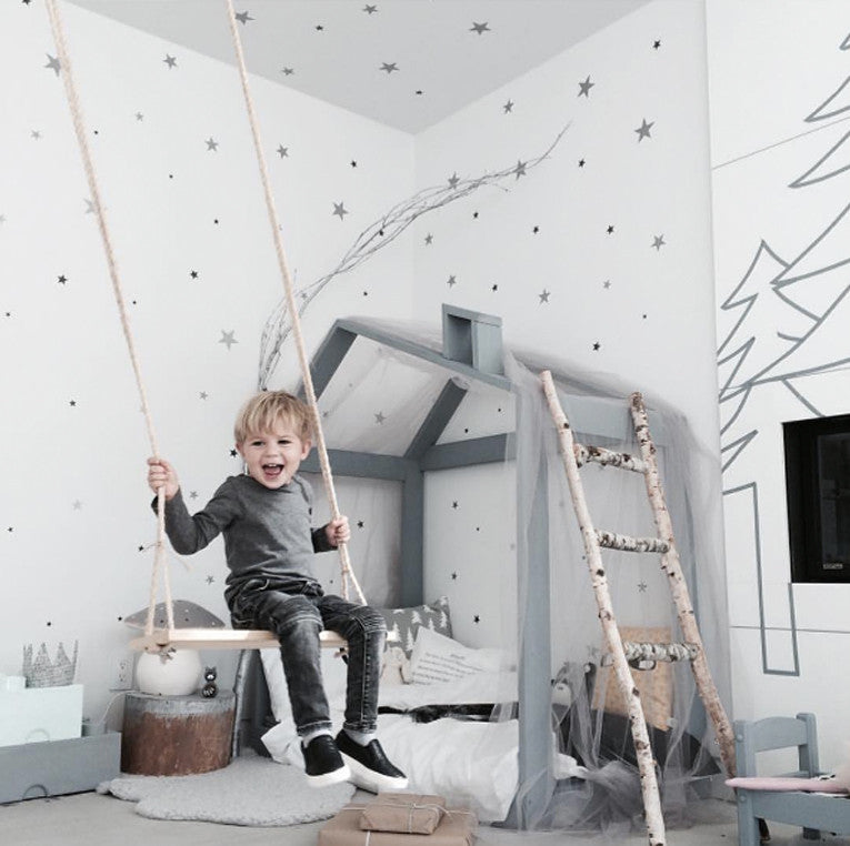 Indoor swing in boys room | Parade and Company