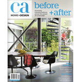 California Home and Design magazine featuring Parade and Company