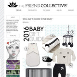 The Friend Collective dachshund pillow feature baby gift guide