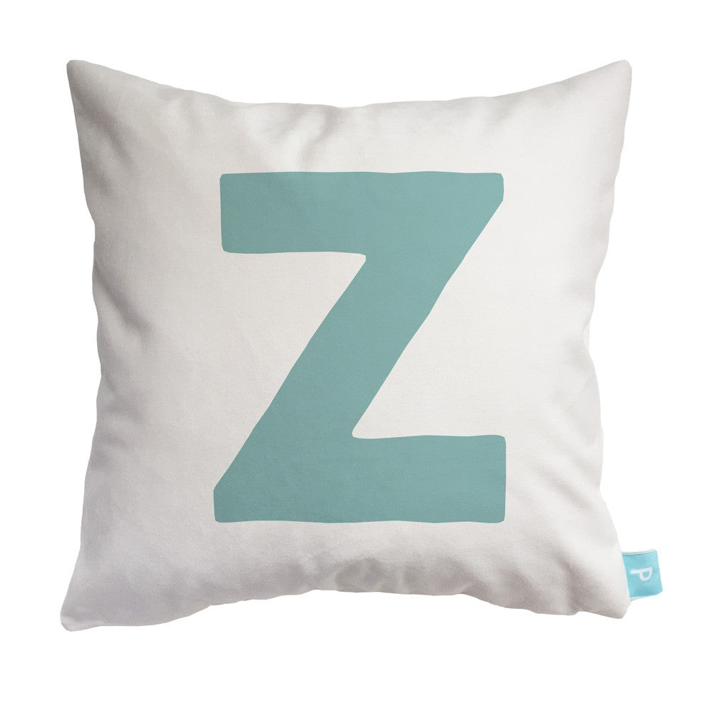 personalized initial pillow letter quotzquot parade and company With letter z pillow