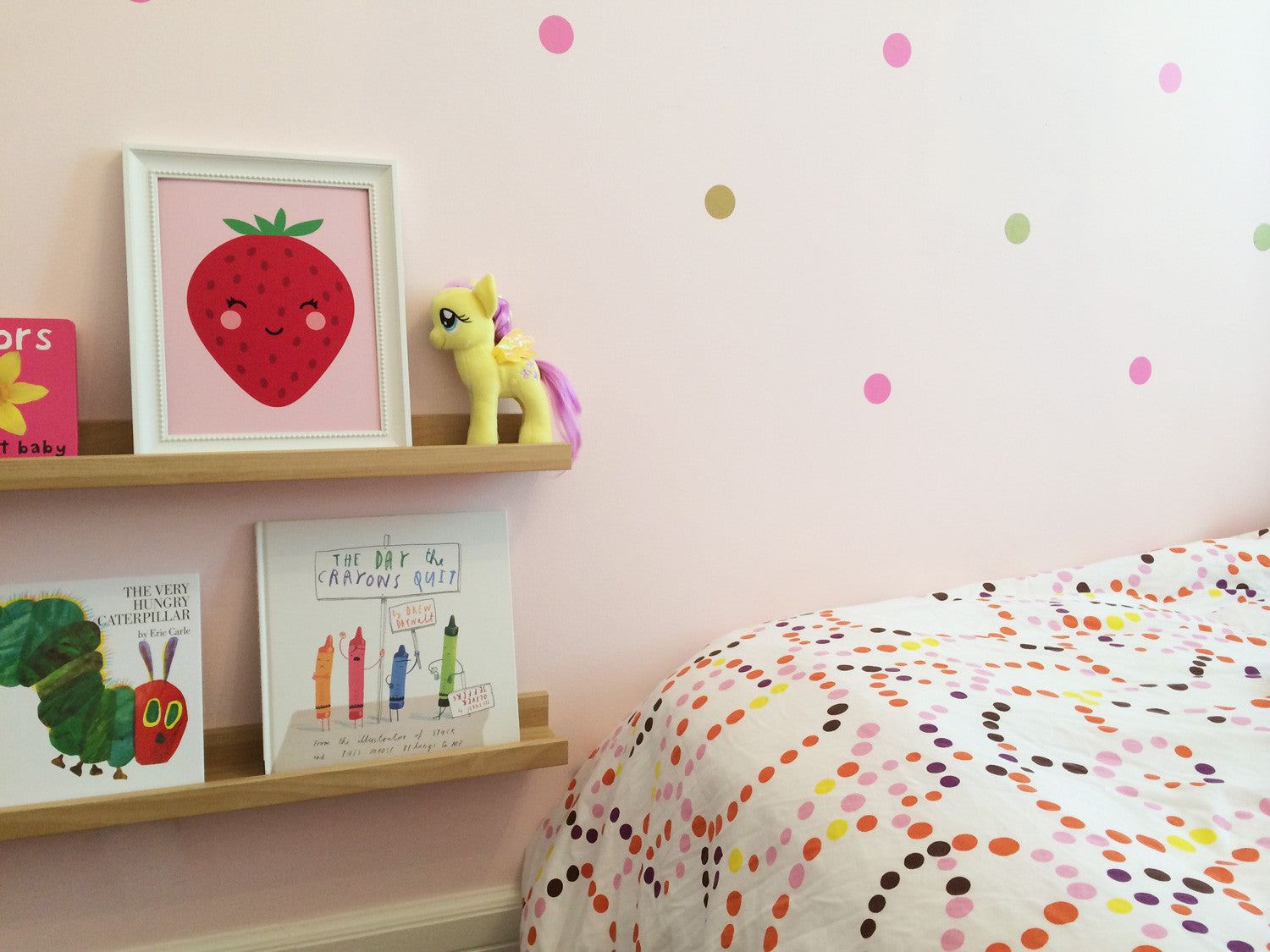 Hungry Caterpillar Wall Stickers Part - 38: ... Girls Room Ideas For Art