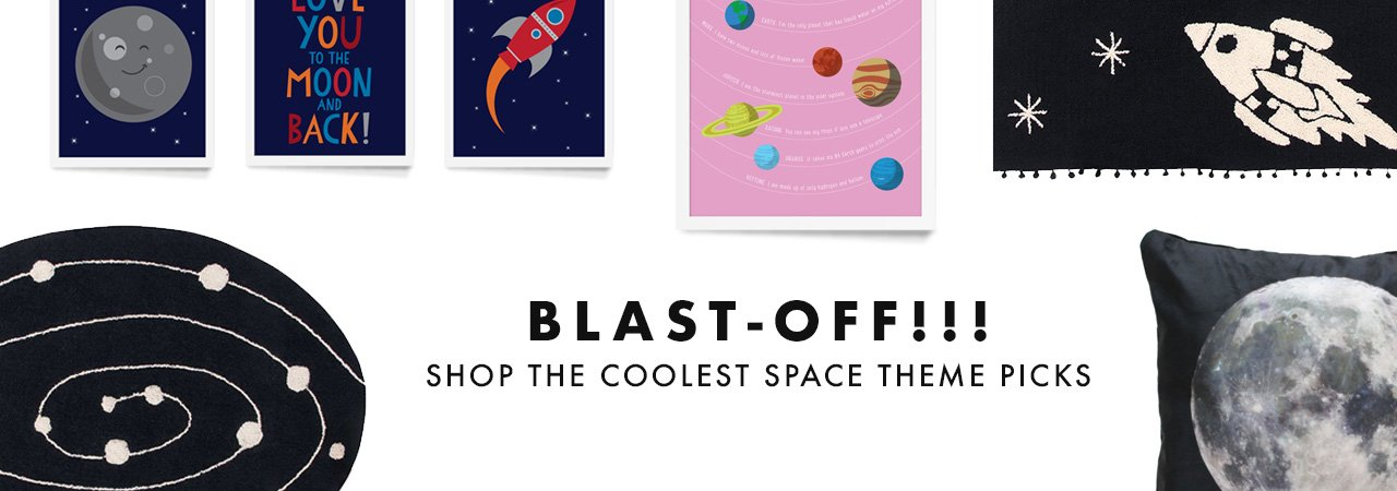 Shop kids space theme room decor
