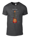 Rock God Guitar T-Shirt