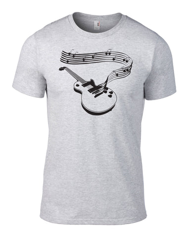 Electric Guitar Notes T-Shirt