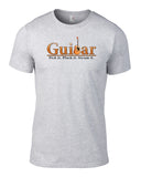 Pick It Pluck It Strum It Acoustic Guitar T-Shirt