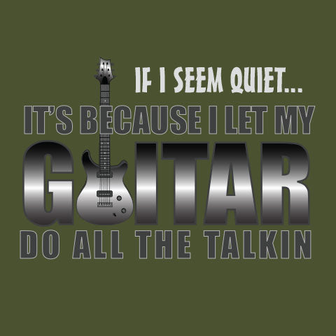 My Guitar Does the Talkin T-Shirt