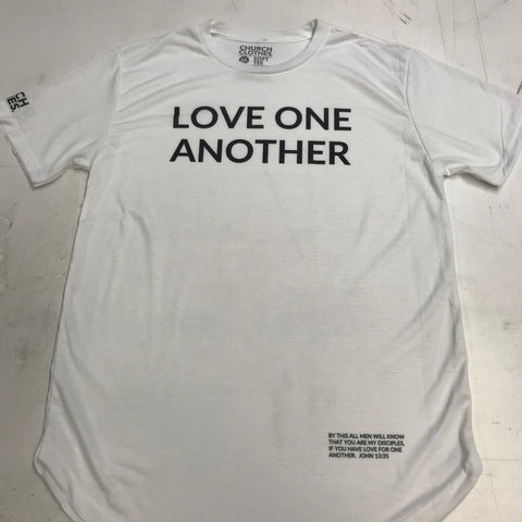 Love One Another Scoop Tee - Church Clothes