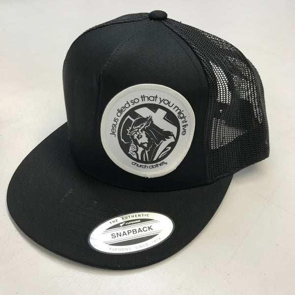 Jesus Died Patch SnapBack