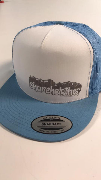 Church Clothes Trucker hat - cityscape