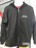Church Clothes zip hoodie