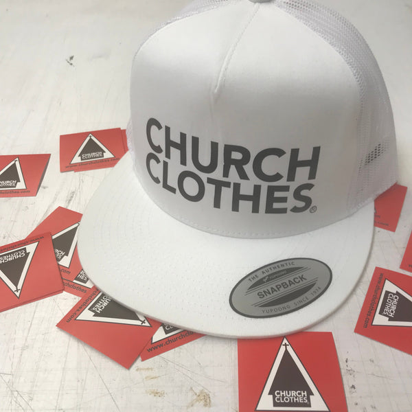 Church Clothes logo Snapback