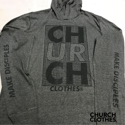 Church Clothes // Make Disciples hoodie