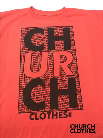 Church Clothes - Make Disciples, christian tee, churchclothes, christian apparel
