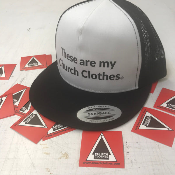 These are my Church Clothes snapback
