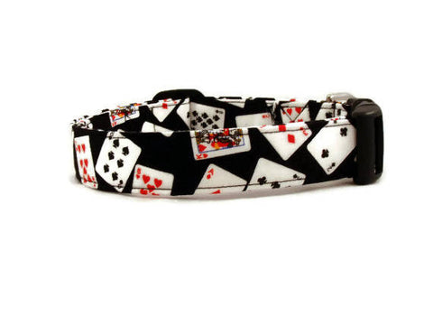 Awesome Playing Cards Dog Collar