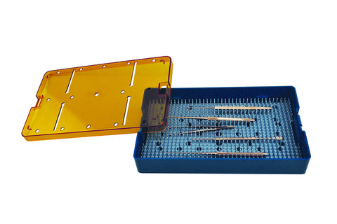 Sterilization Tray For Animal Feeding Needles 10'' x 6'' x 1.5''
