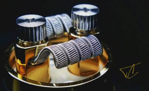 Staggered Fused Clapton Coil