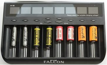 Gyrfalcon All-88 8 Bay Professional Charger