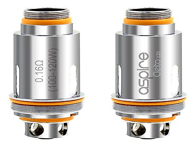 Aspire Cleito 120 Coil 0.16ohm - 5 Coils in pack | UK Vape